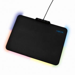 Gaming Mauspad mit RGB-LED Beleuchtung, LogiLink® [ID0155]