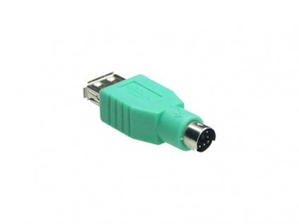 kabelmeister® Adapter USB-A-Buchse an PS/2-Stecker