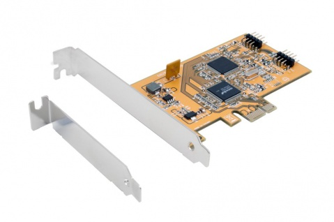 USB 2.0 PCIe Karte mit 3 Internen Ports inkl. LP Bügel (NEC), Exsys® [EX-11057]