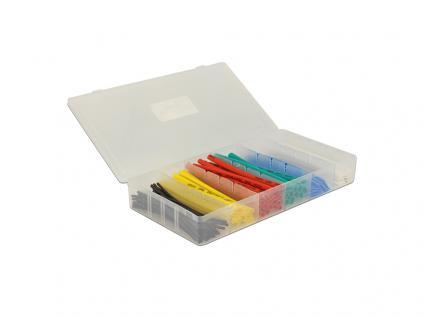 Schrumpfschlauch Box 100-teilig, farbig, Delock® [86264]