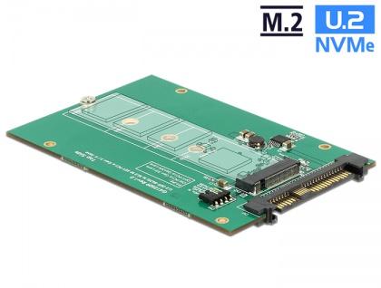 Konverter U.2 SFF-8639 an M.2 NVMe Key M, Delock® [62696]