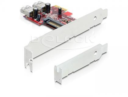 PCIe USB 3.0 2xint. NEC, Delock® [89272]