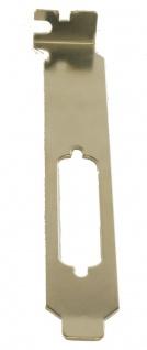 Standard Bügel / Bracket für 25 Pin Stecker/Buchsen, Exsys® [EX-SP25PIN]