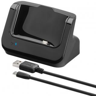 USB Dockingstation für HTC One, schwarz