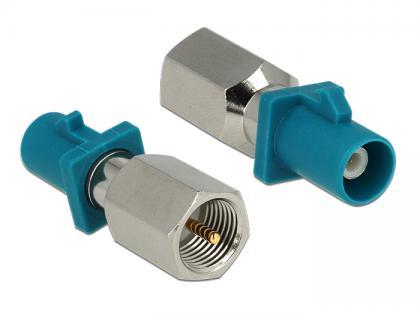 Adapter FAKRA Z Stecker an FME Stecker, Delock® [88933]