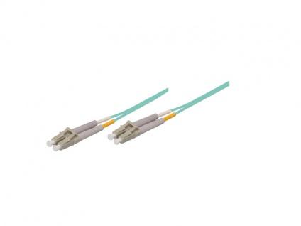 kabelmeister® Patchkabel LWL Duplex OM3 (Multimode, 50/125) LC/LC, 3m