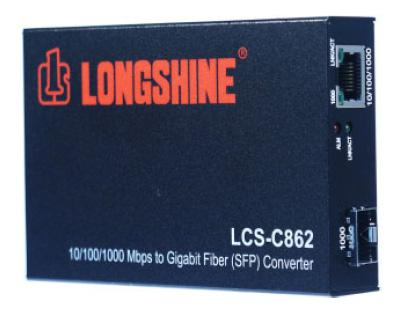 Longshine® Gigabit Triple-Speed Konverter [LCS-C862]