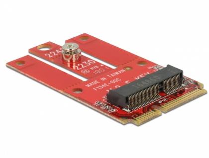 Adapter Mini PCIe > M.2 Key E Slot, Delock® [63909]