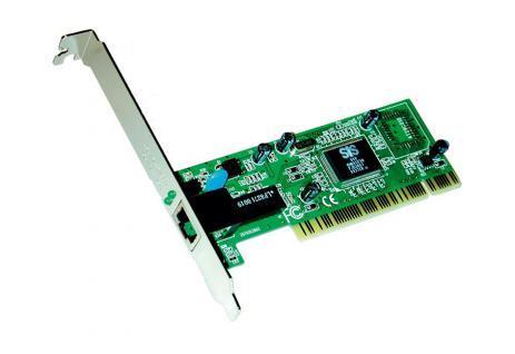PCI Ethernet Karte TP Anschluss, 10/100Mbps (Realtek Chip-Set), Exsys® [EX-6070]