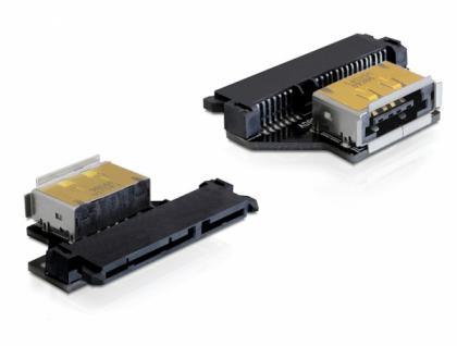 Adapter SATA 22 Pin Buchse an eSATApd Buchse, Delock® [61873]