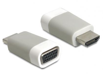 Adapter HDMI-A Stecker an VGA Buchse, Delock® [65472]