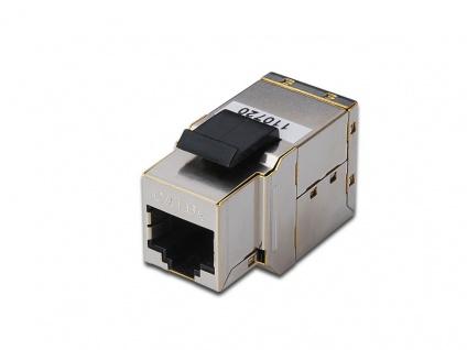 Adapter CAT 6a Modular Kupplung, geschirmt, RJ45, Digitus® [DN-93906]
