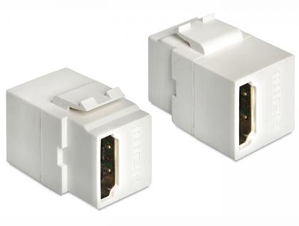 Keystone Jack, HDMI Buchse an HDMI Buchse, Delock® [86316]