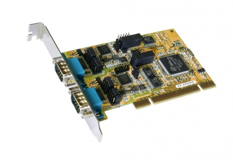 2S Seriell RS232/422/485 PCI Combo Karte mit Surge Protection & Optical Isolation (Oxford Chip-Set), Exsys® [EX-42042IS]