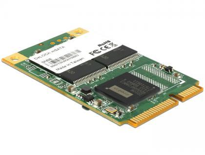 mSATA 6 Gb/s Flash Modul 64 GB, Delock® [54665]