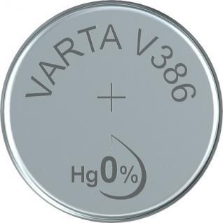 Varta® Knopfzelle (V12GS) Silberoxid-Zink, SR43, 1, 55V, 105mAh