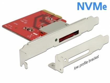 PCI Express Karte zu 1 x extern CFexpress Slot , Delock® [91748]