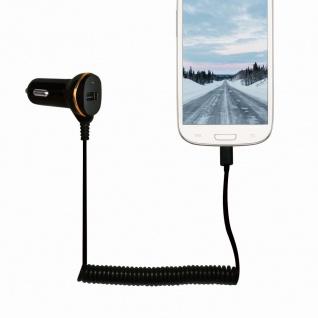 USB Kfz Netzteil mit Micro-USB Kabel, 1x USB-Port, 10, 5W, LogiLink® [PA0147] - Vorschau