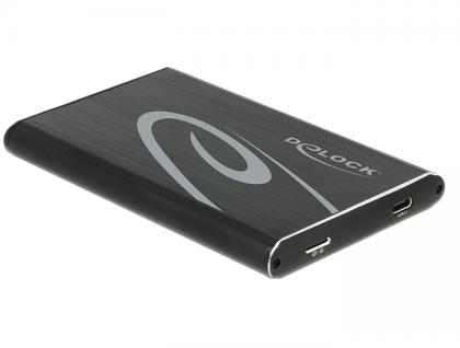 2.5' Externes Gehäuse SATA HDD an SuperSpeed USB 10 Gbps (USB 3.1 Gen 2), Delock® [42586]