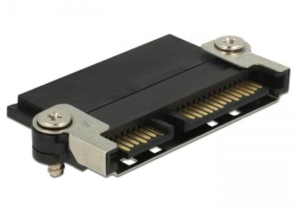 Steckverbinder SATA mit NSS Funktion und Metallclip Halterung, Delock® [65695]