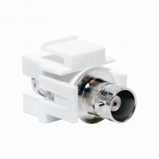 Keystone Verbinder BNC Buchse an BNC Buchse, LogiLink® [NK0019]