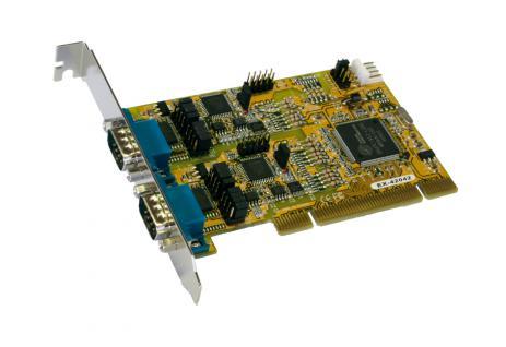 2S PCI Serielle RS-232/422/485 Combo Karte, Exsys® [EX-42042]