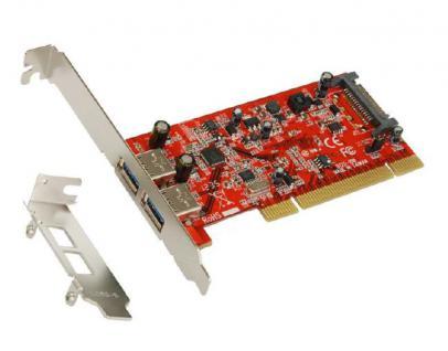 USB 3.0 PCI Karte mit 2 Port (Renesas), Exsys® [EX-1092]