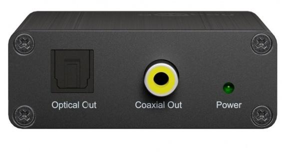 Analog zu Digital Audio Wandler, inkl. Netzteil