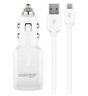 Auto & Sync Set (3-teilig) für Samsung, HTC, 1A USB Autoladegerät mit Micro-USB-Kabel