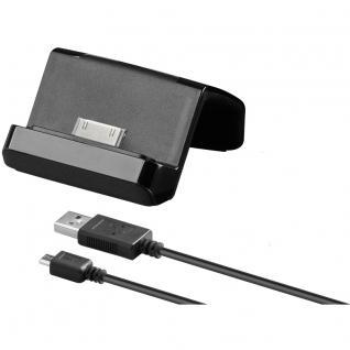 Dockingstation USB für iPhone 4/4S, schwarz