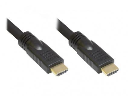 Anschlusskabel High-Speed-HDMIâ?¢-Kabel mit Ethernet AWG24, vergoldete Stecker ...