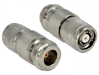 Adapter N Buchse an RP-TNC Stecker, Delock® [88855]