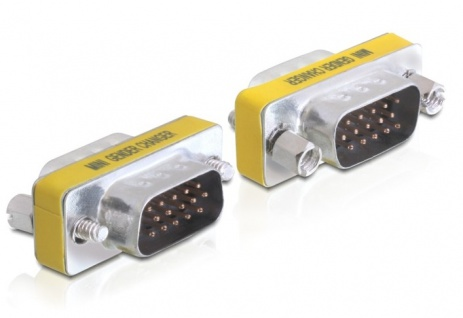 Adapter, VGA Stecker an Stecker, Delock® [65010]