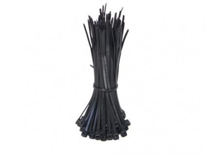 kabelmeister® Kabelbinder 100mm schwarz, 100 Stk