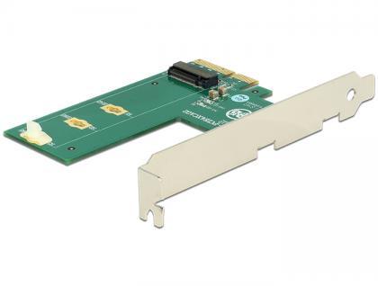 PCI Express x4 Karte an 1x intern NVMe M.2 Key M - Querformat, Delock® [89561]