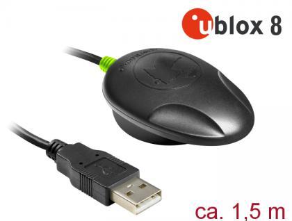 NL-82002U USB 2.0 Multi GNSS UDR Empfänger, u-blox, NEO-M8U, 1, 5m, Navilock® [62756]