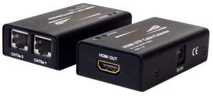HDMI Extender über Cat. 5e und Cat 6 Kabel, 30m Reichweite