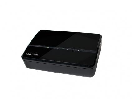 Desktop Switch, 5 Port, Fast Ethernet, LogiLink® [NS0103]