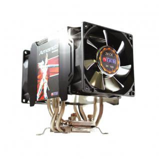 Titan® TTC-NP05TZ Heatpipe CPU Kühler AMANDA für Sockel 775, AM2+, AM2, 940, 939, 754