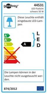 LED Außen-Flutlichtstrahler, 50W, 230V, 4200 lm, 6500K, (kaltweiß), nicht dimmbar, A