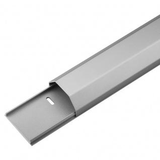 Kabelkanal Aluminium 50mm, silber, 1, 1m