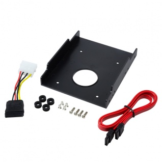 Festplatten Einbaurahmen, 1x 2, 5' auf 3, 5', Kunststoff, LogiLink® [AD0013]