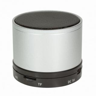 Bluetooth Lautsprecher mit MP3-Player, silber, LogiLink® [SP0051S]