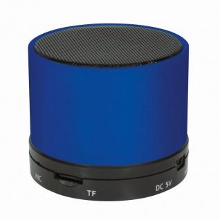 Bluetooth Lautsprecher mit MP3-Player, blau, LogiLink® [SP0051B]