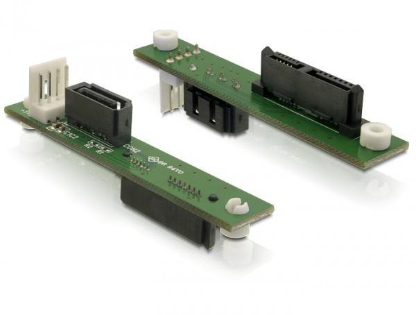 Adapter von SATA Slimline 7+6 auf SATA 7 pin, Good Connections®