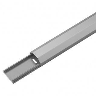 Kabelkanal Aluminium 33mm, silber, 1, 1m