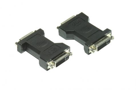kabelmeister® Adapter DVI Buchse 24+5 an DVI Buchse 24+5