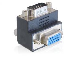 Adapter, VGA Stecker an Buchse 270____deg; gewinkelt, Delock® [65290]