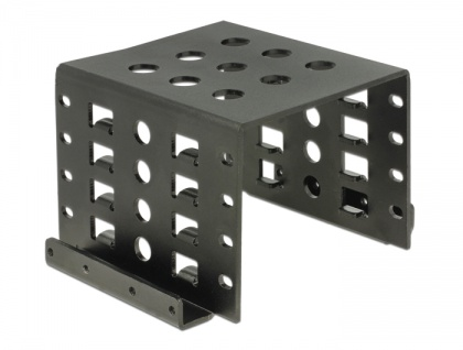 Einbaurahmen 4 x 2.5' zu 3.5' schwarz, Delock® [18271]