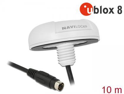NL-8222MP MD6 seriell PPS Multi GNSS Empfänger, u-blox 8, 10m, Navilock® [62530]